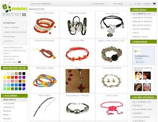 Eabalorios tienda online de abalorios para bisutería
