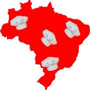 O site Casa e Jardim, através da seção Casa e Comida, fez uma seleção para . (mapa brasil)