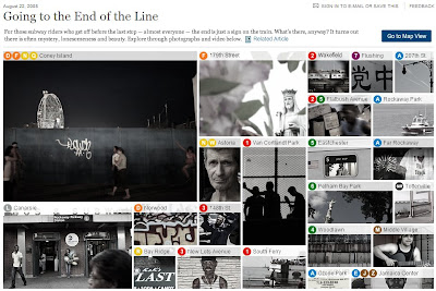 'Going to the End of The Line' - NYTimes.com - 22/08/2008