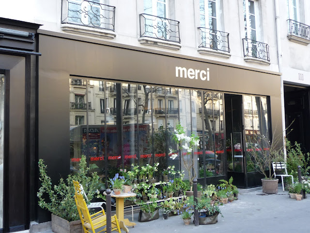 Paris, Merci and an aperitif in St Germain - Sharon Santoni