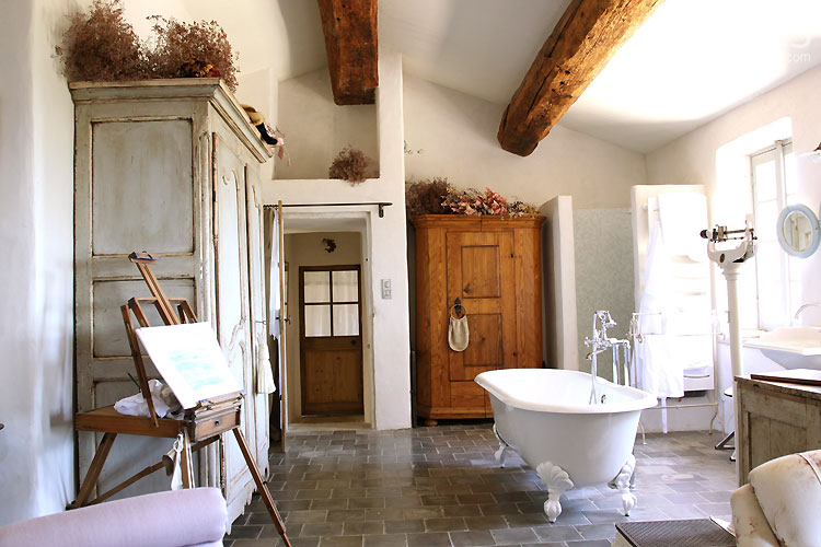 Beautiful Salle De Bain Chambre Open Space Pictures - House Design ...