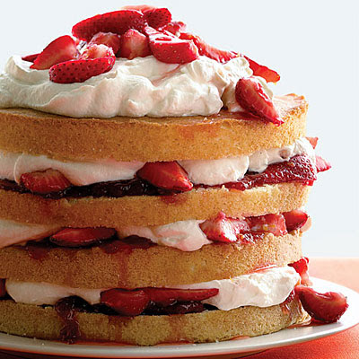 recipe for strawberry shortcake cake is one of America's favorite desserts.