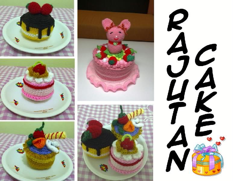 MACAM-MACAM AMIGURUMI / RAJUTAN CAKE