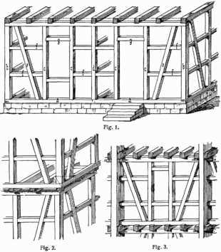 Stadt im mittelalter wie sah eine typisch for Fachwerkhaus skizze