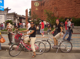 Twas fun cycling in Lijiang