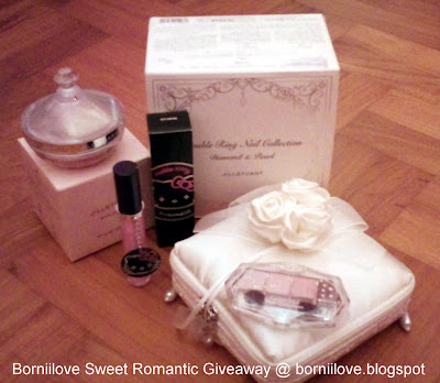 ~*~BORNIILOVE Sweet Romantic Giveaway~*~