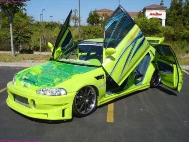 Honda Civic Extreme Tuning