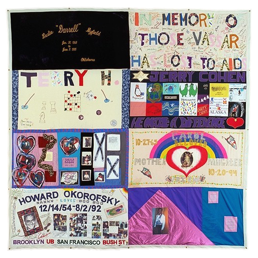 The AIDS Memorial Quilt will be displayed at PlayMakers ... : names project quilt panels - Adamdwight.com