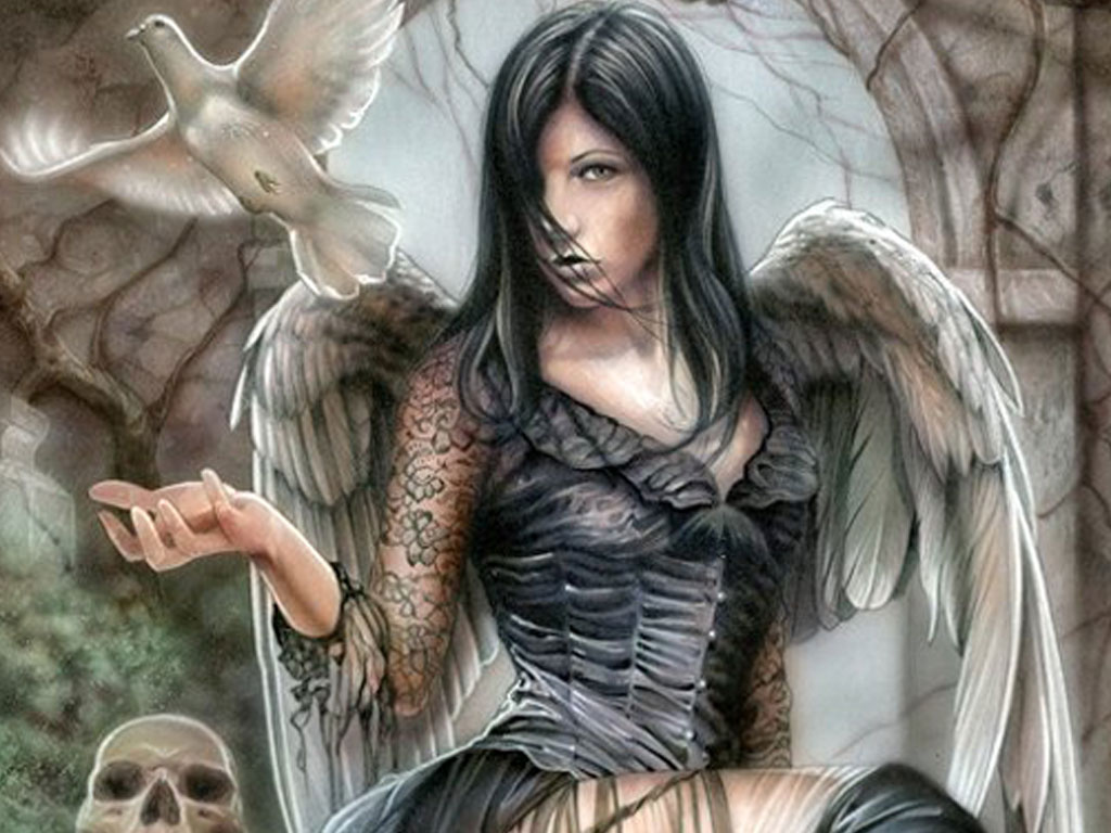 Pic new posts angels wallpaper for mobile - Dark gothic angel wallpaper ...