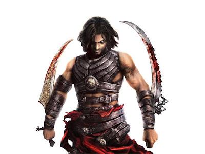 ellerinde kılıç tutan adam.