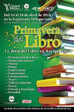 """Feria """"Primavera del libro"""" Azcapotzalco, Abril 10, 2010"""