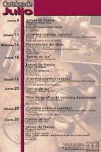 Donceles 66, Espacio Cultural Sec. Cultura DF Jueves de Poesía: Julio 16, 2009 Poesía Fusionista