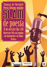 Clausura del Recital de Poesía Chilango Andaluz