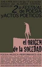 2º Festival Poesía El origen de la soledad