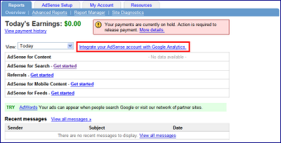 Get Analytics With Adsense Now