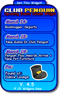 Events coming to club penguin