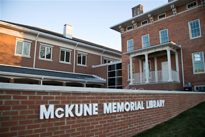 McKune Memorial Library in Chelsea Michigan. Photo by Burrill Strong, copyright 2007.