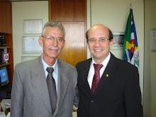 Vereador Carlao Motorista e o Deputado Federal João Dado