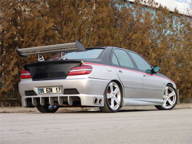 Car Vehicle Peugeot 406 Tuning