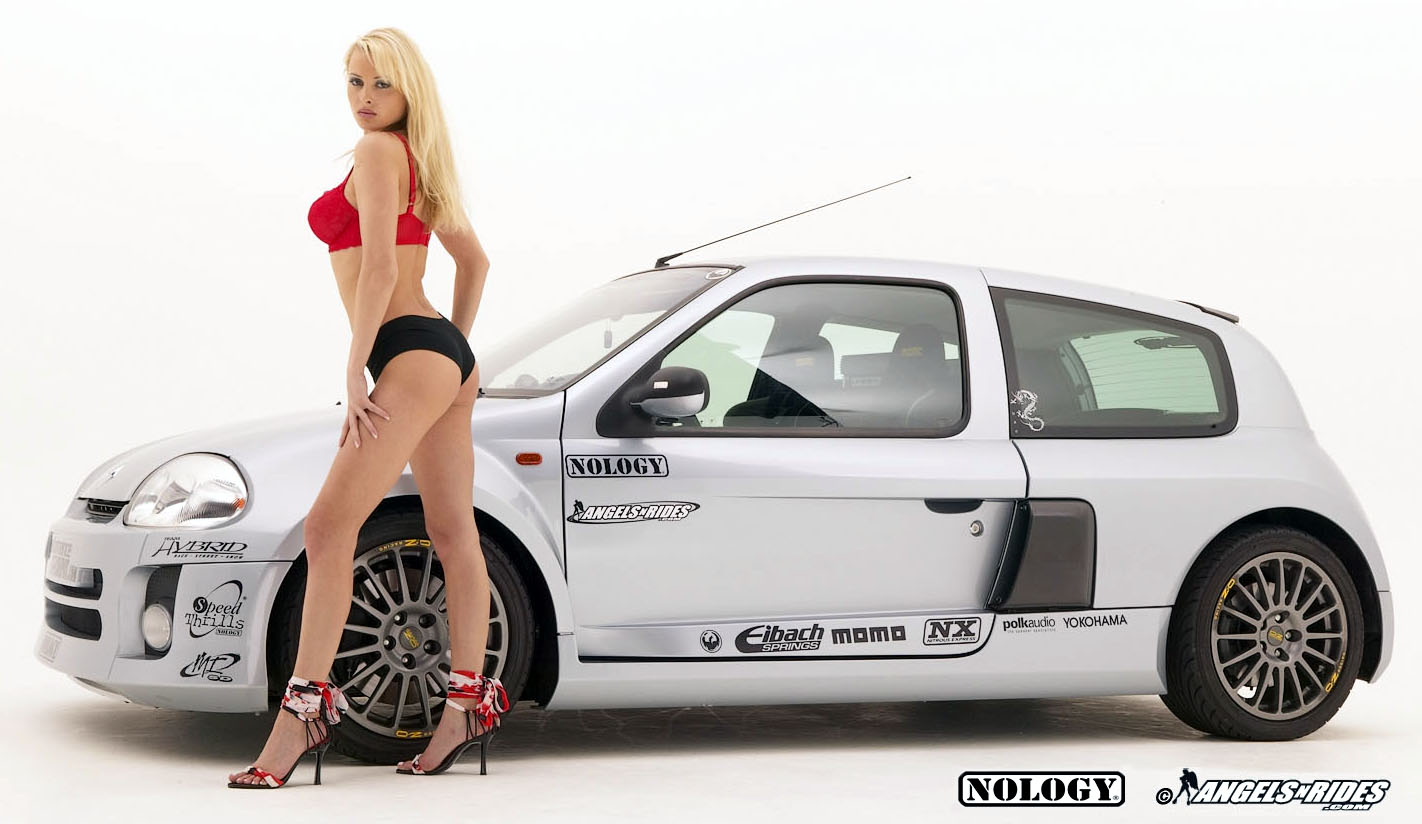 Car Vehicle Renault Clio V6 Tuning