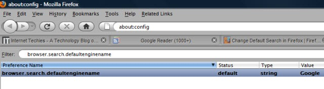 how to change search engine on firefox mac