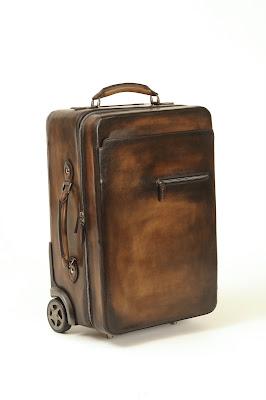 Berluti polishing events, and luggage