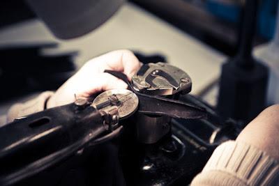 Factory visit: Dent's gloves