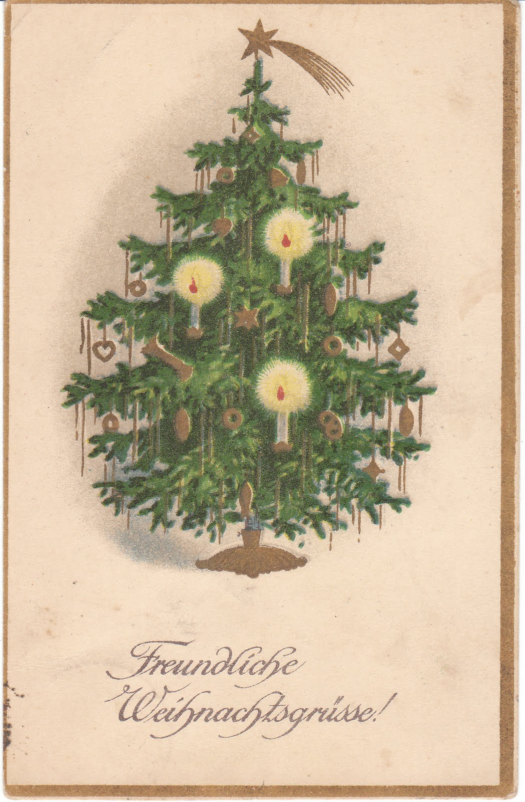 Antique german postcard