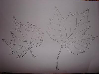 Есенни листа за оцветяване