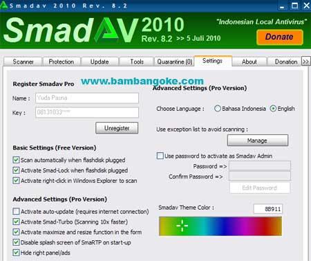 untuk menjadi Smadav Pro450