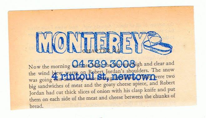 Monterey Paper Trail