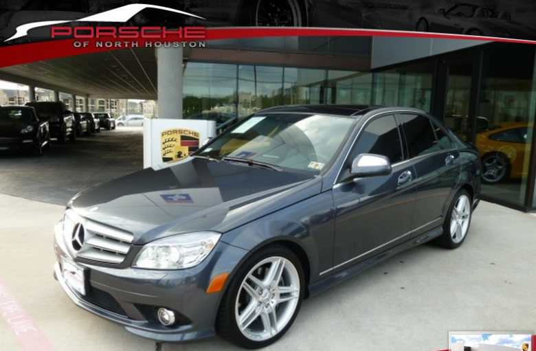 Porsche of north houston pre owned vehicle of the week for Mercedes benz 2008 c350