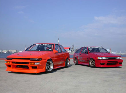 AE86 Levin and Trueno