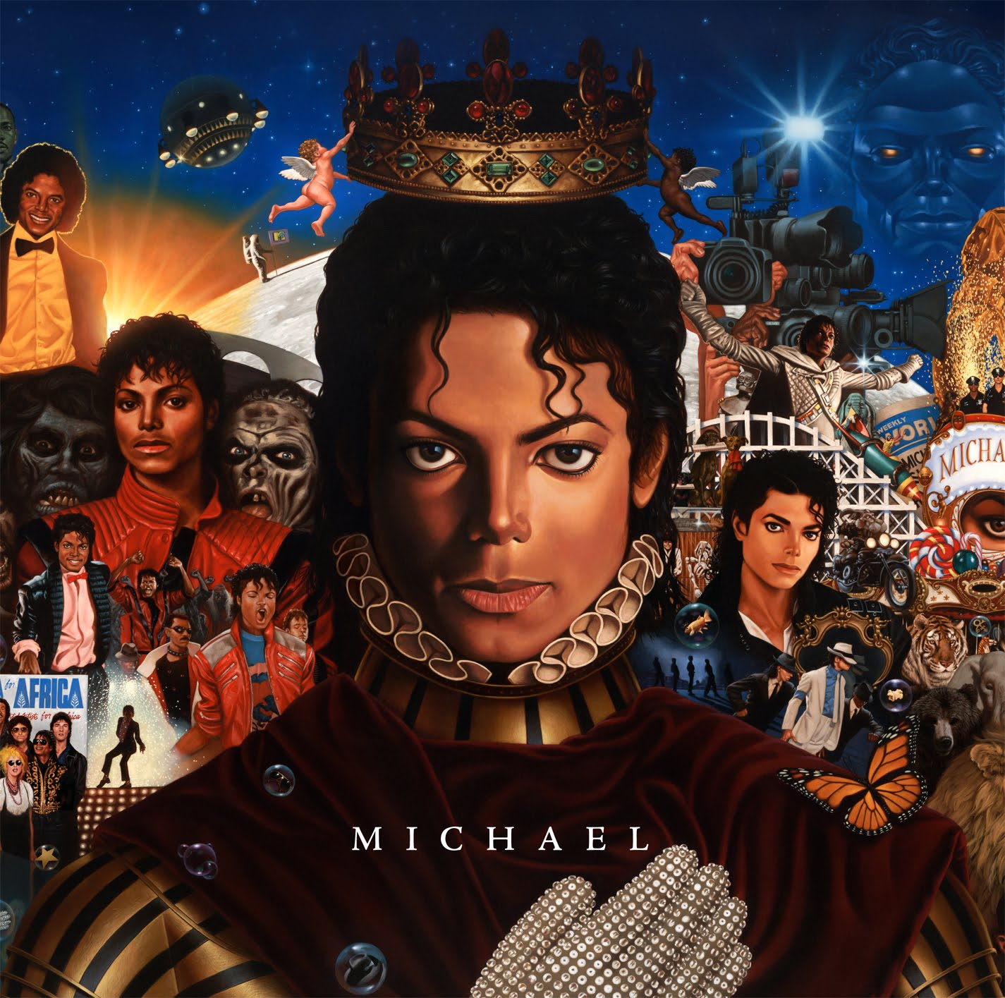 michael jackson album cover - photo #1