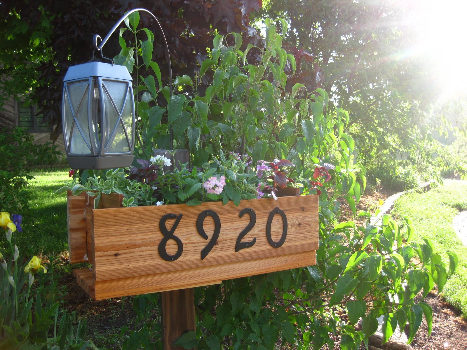 The hand me down house may 2010 - House number signs for yard ...