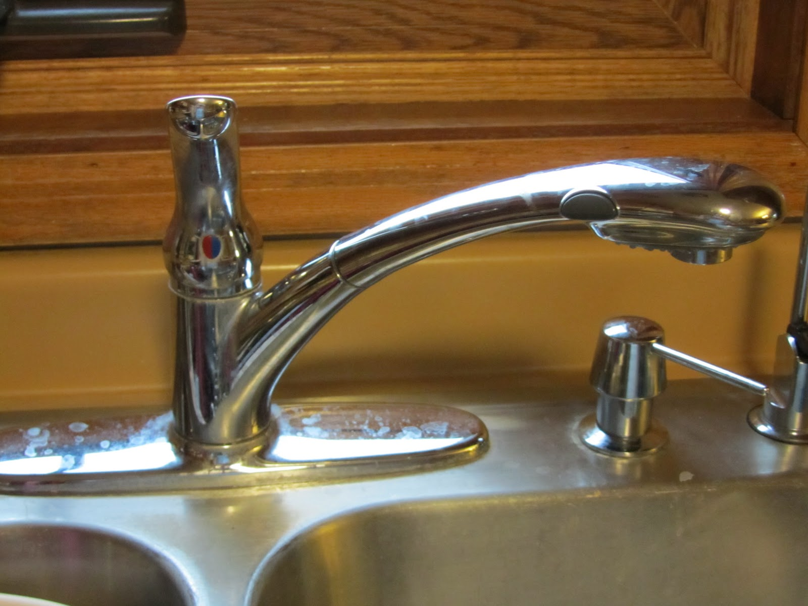 The Hand Me Down House Moen Arbor Kitchen Faucet