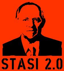 Schäublone: Stasi 2.0