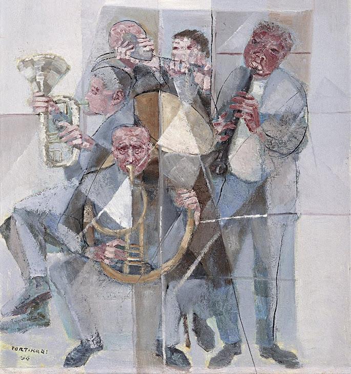 Cândido Portinari - (1956) Banda de Música