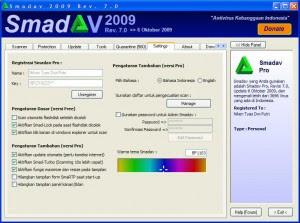 Smadav Antivirus 7.3 (2009) Downlaod