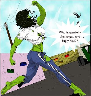 She-Hulk cartoon porn