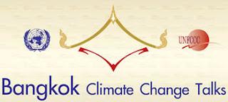 Bangkok Climate Change Talks UNFCCC logo.