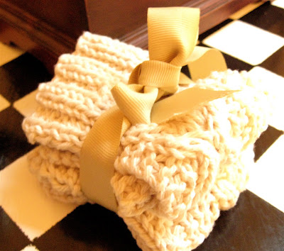 Hugs And Kisses Knitted Washcloth Pattern Little House In The Suburbs