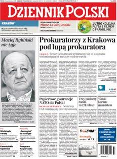 Prokuratorzy z Krakowa pod lupą prokuratora - wejcie