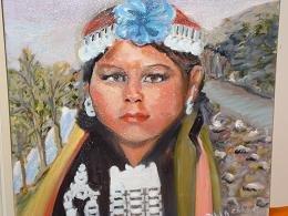 mapuche    (óleo)