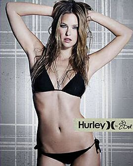 bar refaeli little black bikini