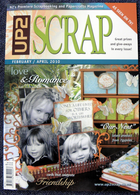 Made the cover of UP2SCRAP
