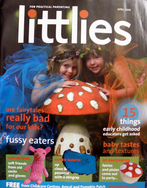 On the cover of Littlies