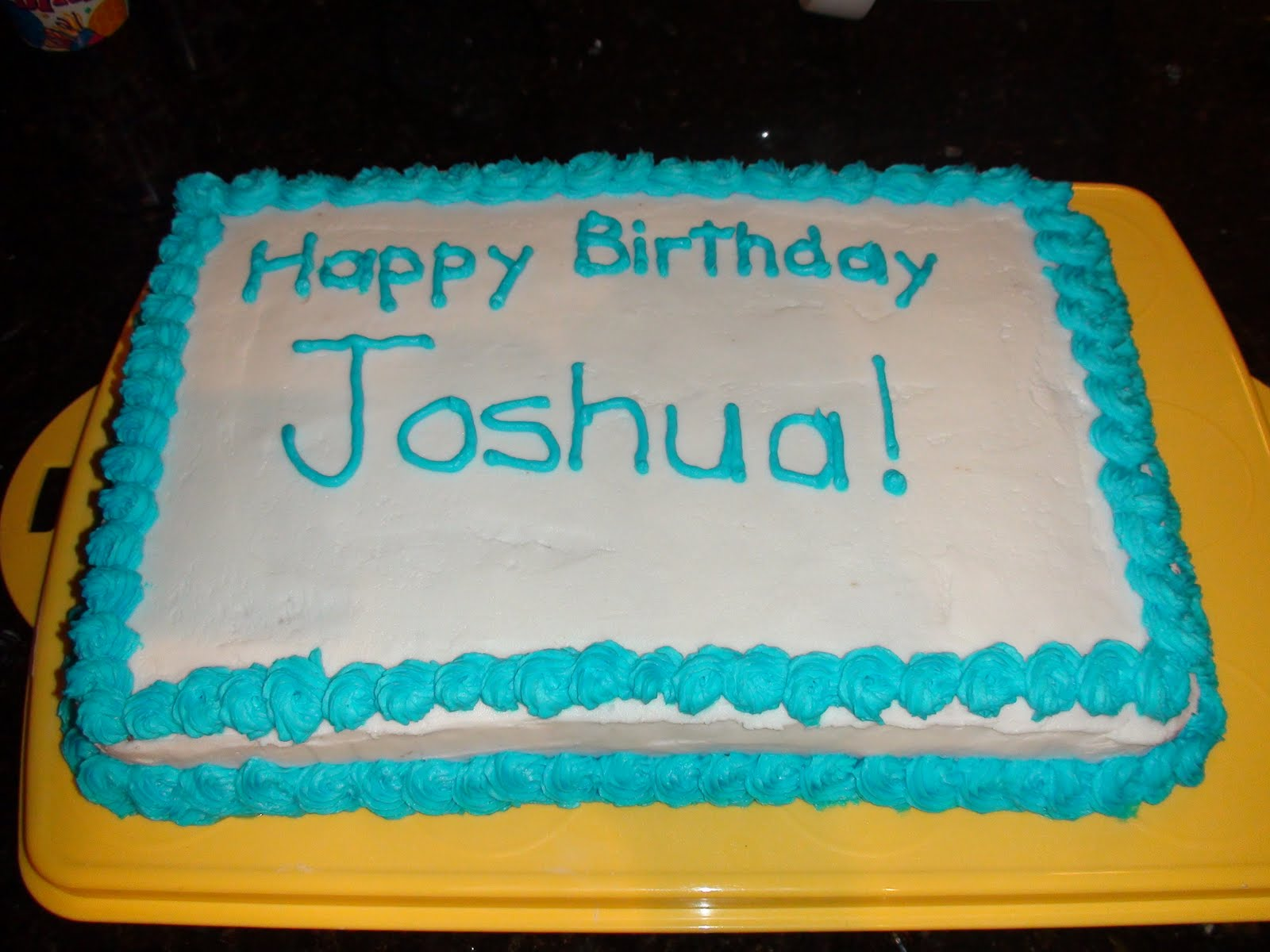 Happy Birthday Cake Joshua Images ~ Virginia s cake space josh birthday