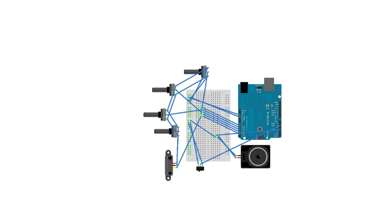 Helmizuhdi Journal Fyp August 2010 Theremin Circuit Diagram Breadboard Arduino Synthesizer 101 My Schematic