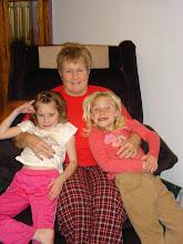 Grandma, Bay, and Brin